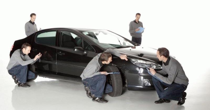 Предпродажная работа оценщиков автомобиля