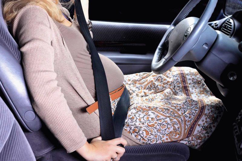 беременные в авто