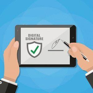 Генерация электронной подписи в личном кабинете налогоплательщика