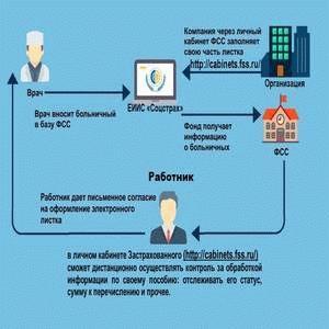 Как проверить статус больничного листа на сайте ФСС