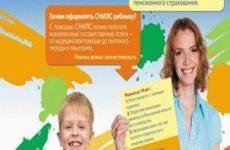 Как сделать СНИЛС ребенку через МФЦ