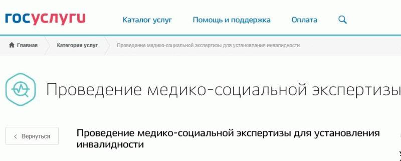 """Портал Госуслуги позволяет обращаться за проведением МСЭК, заключение которой используется для оформления знака """"Инвалид"""""""