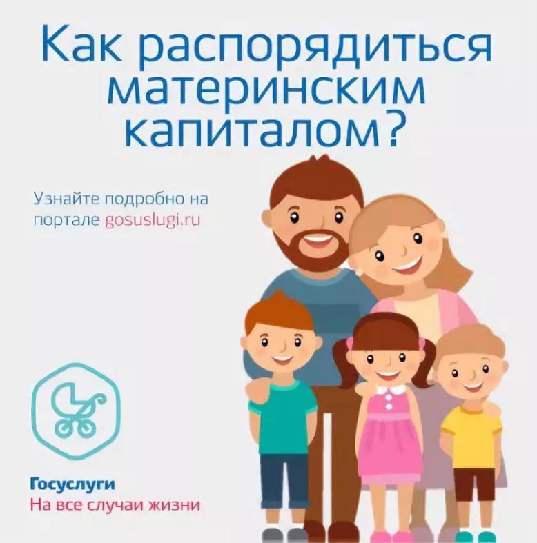 Распорядиться материнским капиталом можно с учетом разрешенных законодательством статей