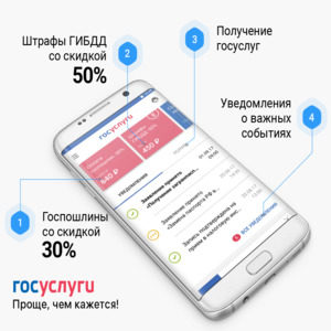 Регистрация на «Госуслугах» через мобильное приложение