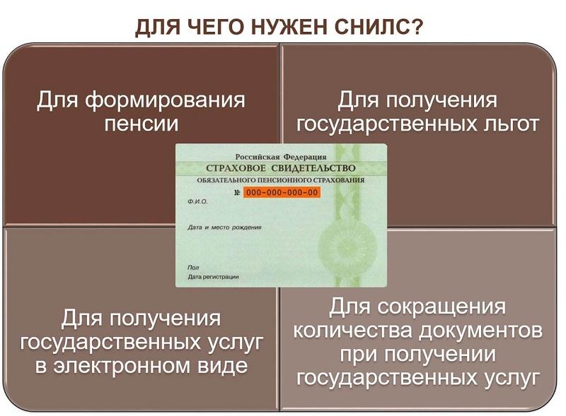 СНИЛС - документ, кторый необходим в различных ситуациях