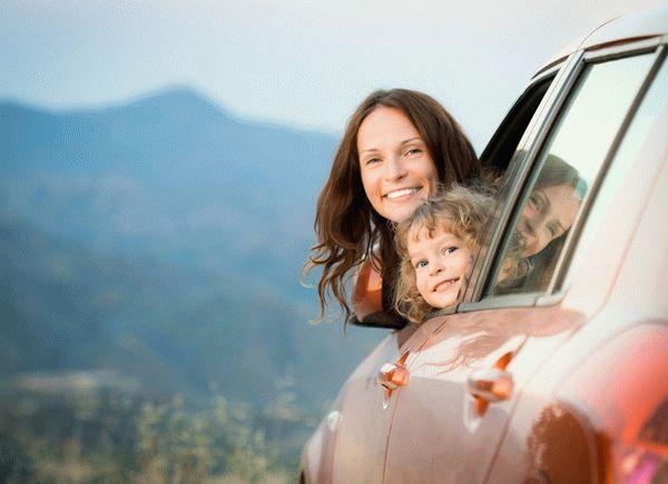 Особенности оформления машины на ребенка