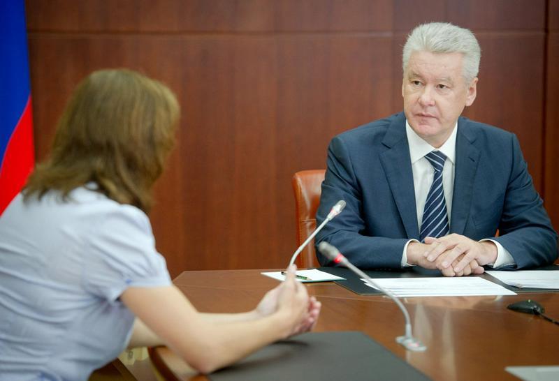 Запись к мэру Москвы