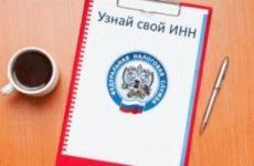 Как узнать свой ИНН по паспортным данным онлайн